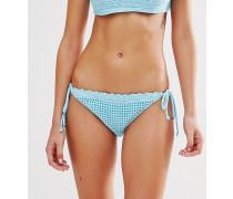 Bikinislip mit Seitenschnürung