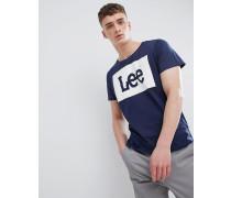 Jeans - T-Shirt mit Logo