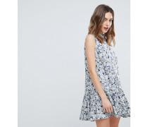 July - Mit Blumen bedrucktes Hemdkleid