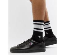919 - Niedrige Sneaker in Schwarz