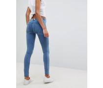 WR.UP - Enge formende Jeans mit mittelhohem Bund und Push-up-Effekt