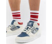 3 On 3 - Niedrige Sneaker in Weiß