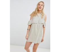 Jinette - Gestreiftes Hemdkleid