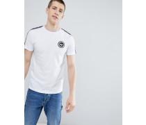 T-Shirt mit seitlichen Streifen