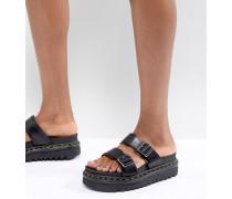 Myles - Flache zweiteilige Sandalen