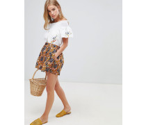 Shorts mit Blumenmuster