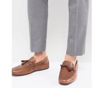 Freinia - Driver-Schuhe aus Leder mit Quasten
