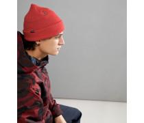 Snow Sweep - Gefütterte Mütze in Orange