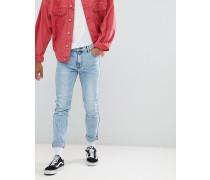 Clark - Schmale Jeans in Nebelblau