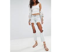 Awesome Baggies - Gerade geschnittene Jeans mit extrem großen Ausschnitten