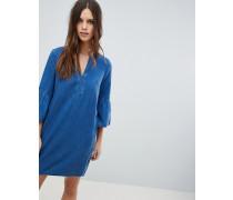 Peyton - Chambray-Kleid aus Tencel