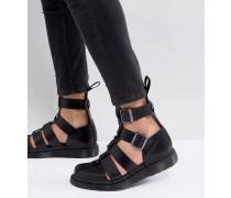 Dr.Martens - Geraldo - Sandaletten mit Fesselriemen in Schwarz