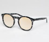 Kosha Comeback - Runde Sonnenbrille in Schildplatt & Gold