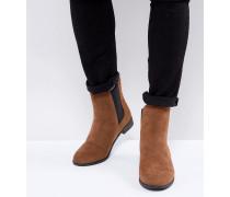 Hellbraune Chelsea-Boots