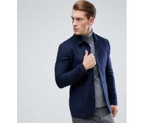 Schmal geschnittene Worker-Jacke mit Knopfleiste