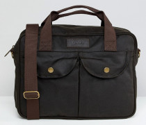 Longthorpe - Laptop-Tasche in Grün