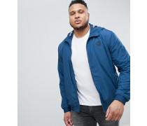 PLUS - Leichte Jacke mit Futter in Palmenmuster