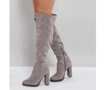 Cayoosh - Overknee-Stiefel aus Wildleder