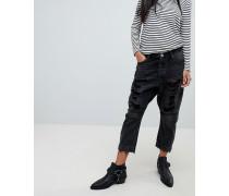 Kingpins - Boyfriend-Jeans mit tiefem Schritt