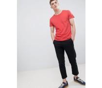 Jeans - T-Shirt mit Tasche
