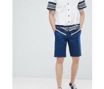 T For Tall - Chino-Shorts in Marineblau