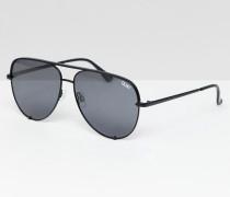 X Desi - Pilotensonnenbrille mit hohem Nasensteg