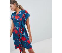 Closet - Bedrucktes Kleid mit Rüschen