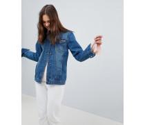 Fielding - Lang geschnittene Jeansjacke