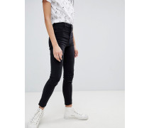 Enge Jeans mit hoher Taille