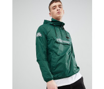 overhead jacket in green