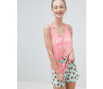 You Are One In a Melon - Pyjama-Set mit Shorts