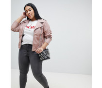 Amy - Sehr schmale Jeans mit hoher Taille
