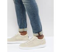 Dizon - Sneaker aus Wildleder in Creme