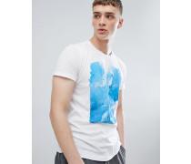 T-Shirt mit Landschaftsmotiv
