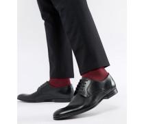 Gould - Derby-Schuhe aus schwarzem Leder