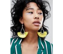 Statement-Ohrringe mit Quastendesign