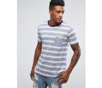 Retro-T-Shirt mit Streifen