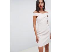 Darina - Figurbetontes Bardot-Kleid