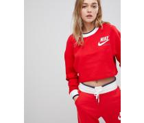 Archive - Wende-Sweatshirt in Rot