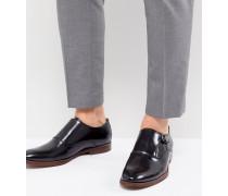 Catallo - Monk-Schuhe aus Leder in Schwarz