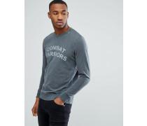Sweatshirt mit Vintage-Grafikprint