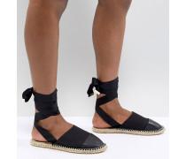 Josh - Espadrilles mit Beinschnürung und Nietenverzierung