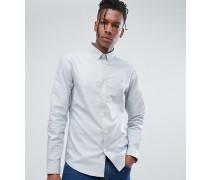 Enges Button-Down-Oxfordhemdd in Blau