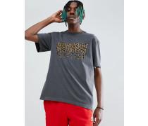 Arches T-Shirt mit Leoparden-Print und Logo