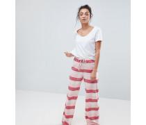 Karierte Schlafanzughose