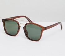 Sonnenbrille mit Brauensteg