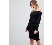 Edita - Hautenges schulterfreies Kleid