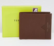 Looeze - Faltbare Brieftasche aus genarbtem Leder