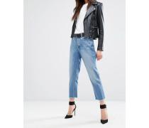 Patti - Kurze Jeans mit abgeschnittenem Saum