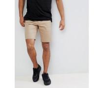 Chino-Shorts in Beige